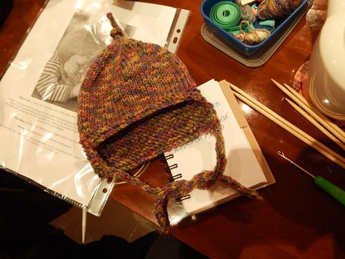 детская шапка антонпалычу готова