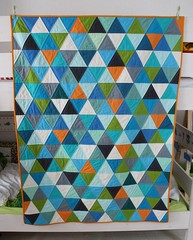 My son finally has a new quilt