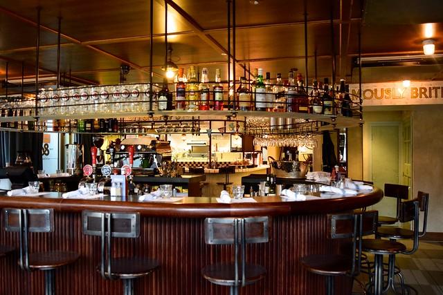 Bar at The Fish & Chip Shop, Liverpool Street