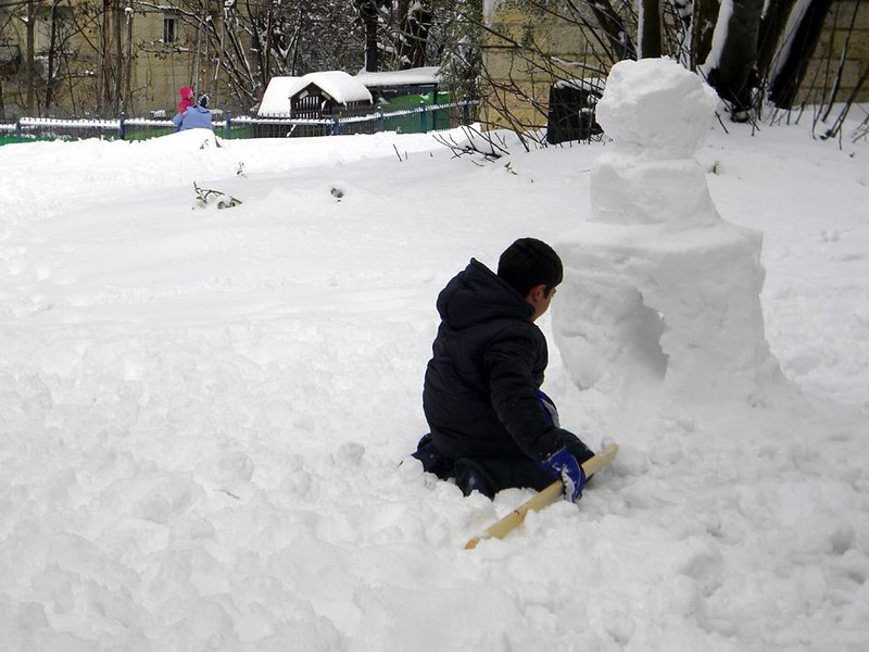Jerusalem Snow Storm February 2015