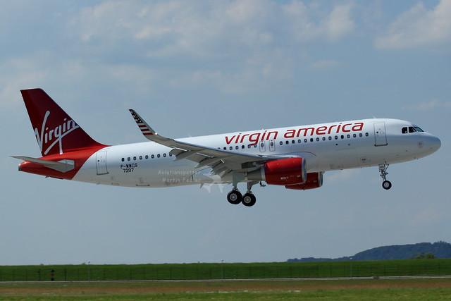 F-WWDS // Virgin America // A320-214SL // MSN 7207 // N365VA