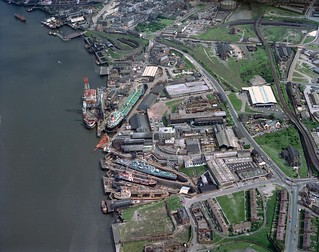 Middle Docks and Engineering Company, South Shields, 1976