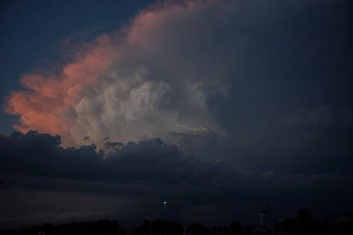 cloud storm thunderstorm lightning cumulonimbus