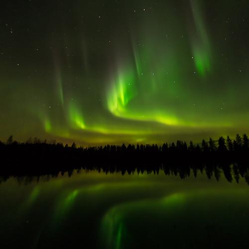 Aurora Borealis by Jari Peltomäki