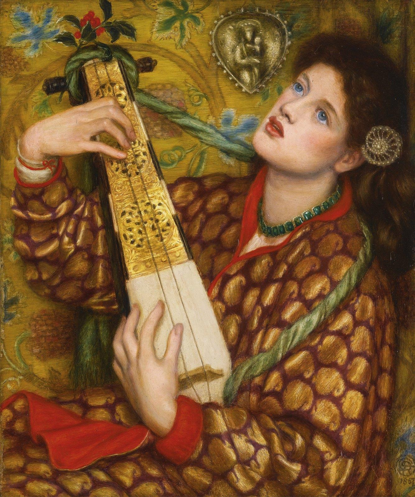 A Christmas Carol by Dante Gabriel Rossetti - 1867