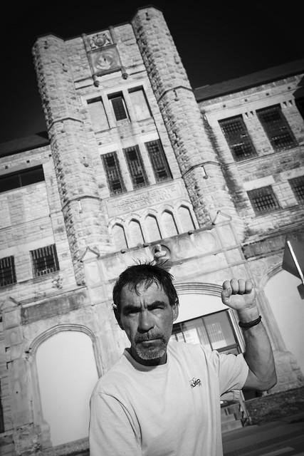 Ex-Con Prison Portrait