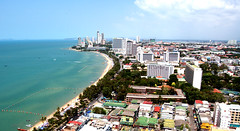 Looking North From Hilton Pattaya