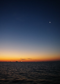 Dawn over the Gulf