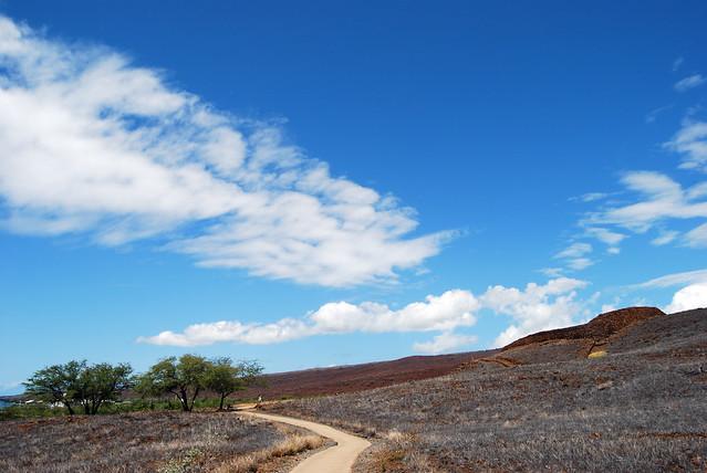 Pu'ukohola Heiau Clouds