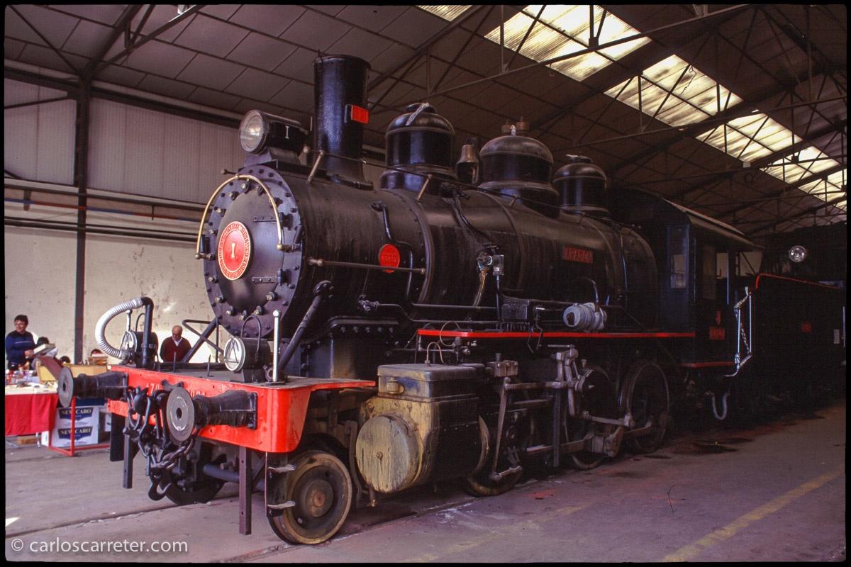 "Locomotora Baldwin 130 ""Aragón"""