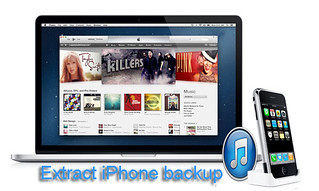 extract iPhone backup