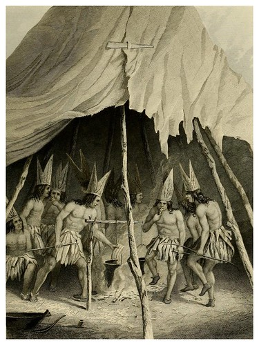 007-Danza de los gigantes-The Indian tribes of the United States..1884-H. R. Schoolcraft