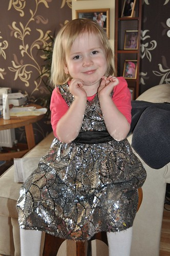 Amaia in her party dress by PhylB