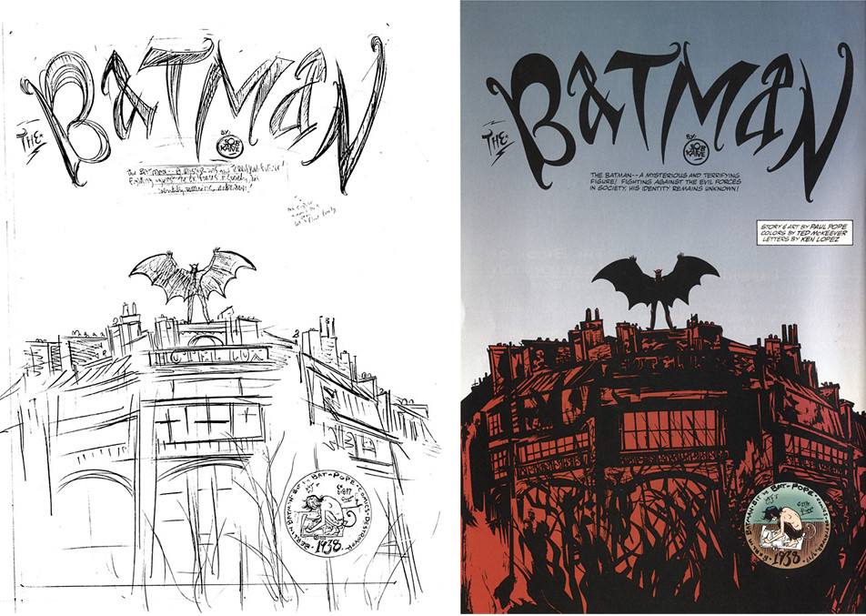 The Berlin Batman Paul Pope