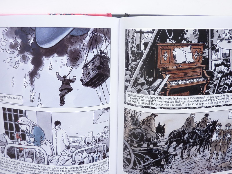 Goddamn This War! by Jacques Tardi & Jean-Pierre Verney - detail