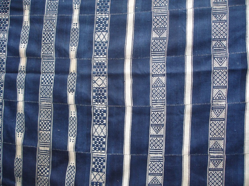 C20th Malian cotton blanket