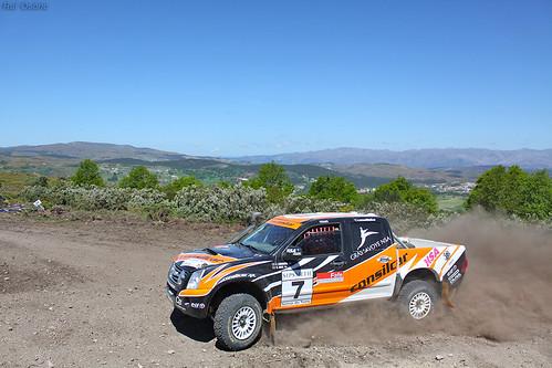EDGAR CONDENSO / NUNO SILVA - ISUZU D-MAX - Rali TT Serras do Norte 2013
