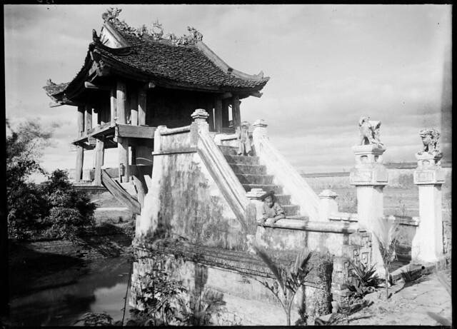 1896 Hanoï - Pagode du Lotus (Chua-mot-Cot)