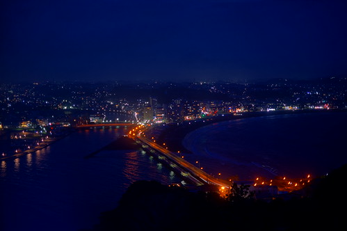 Enoshima Sea Candle night scene