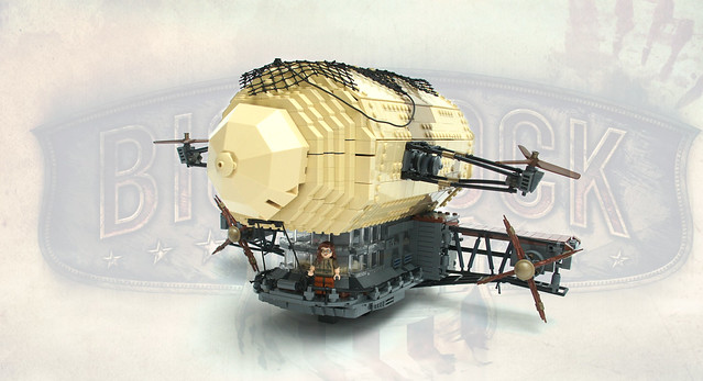 Bioshock Infinite: 'Security Zeppelin'