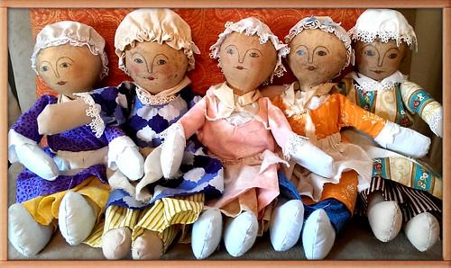 Gourd Head Dolls