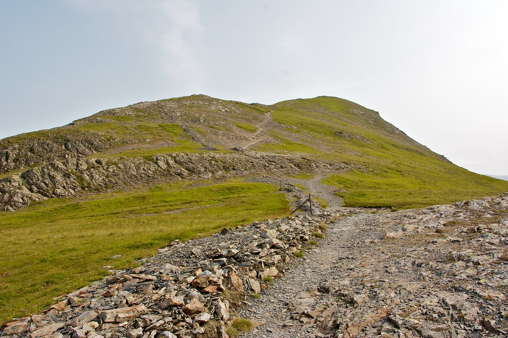 Descent from Grisedale Pike