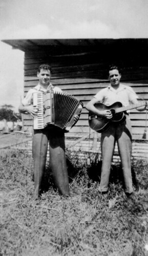Two musical brothers, ca. 1947