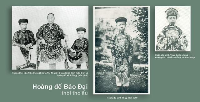Hoàng đế Bảo Đại thời thơ ấu