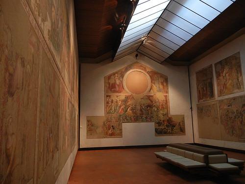 DSCN3325 _ Gli affreschi di Mezzaratta, Pinacoteca Nazionale di Bologna