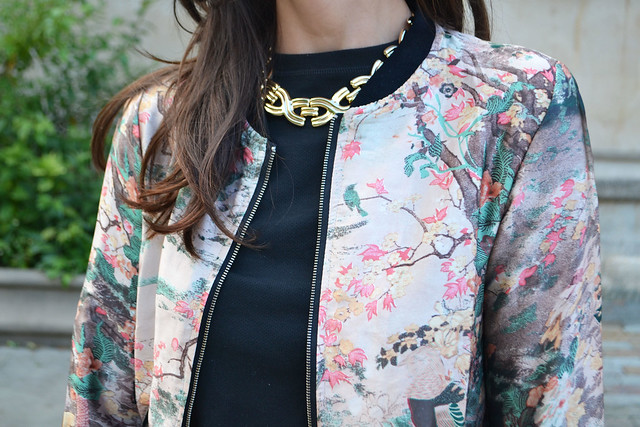 Japanese print jacket