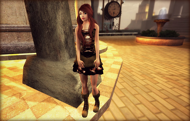 CK 10L Dress And Free Boots