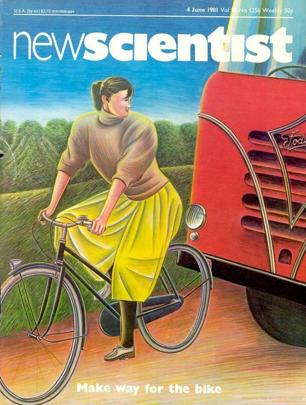 Make Way For The Bike, New Scientist, 4th June 1981