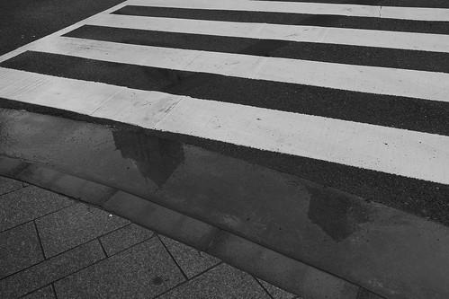 新潟は名残りの雨に濡れて