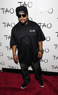 Ice Cube lamping at Tao club in vegas