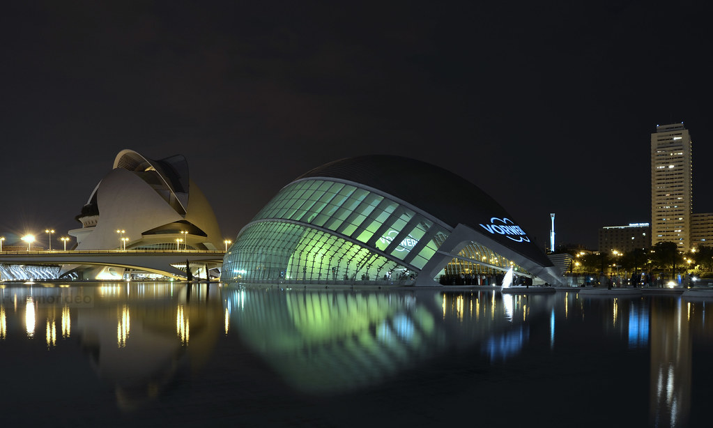 Palace of Arts and Sciences Valencia  - cover