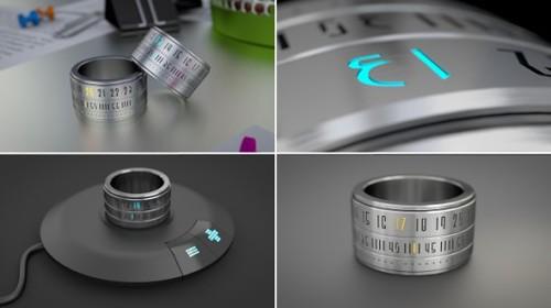 The Ring Clock – кольцо с часами и LED-подсветкой
