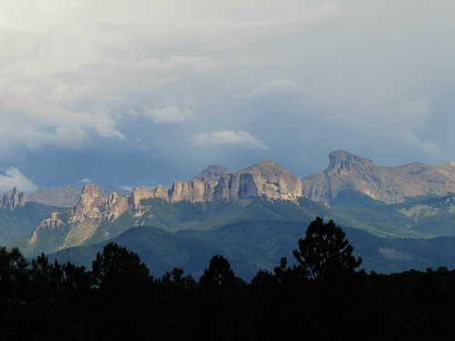 storm mountains clouds rural colorado ridgway sanjuanmountains cimarronmountains