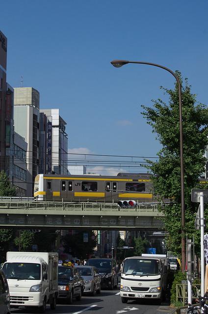 Tokyo Train Story 2013年9月12日 総武線