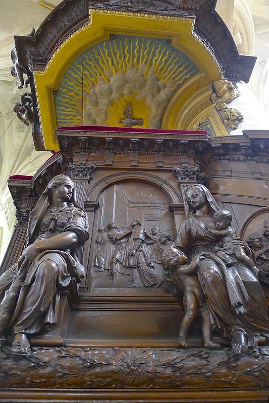 l'Église Saint-Étienne-du-Mont - Paris