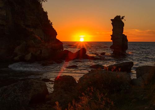 sunset japan ngc 日本 shimane 夕景 夕日 matsushima ススキ 島根県 大田市 掛戸松島 kakedo