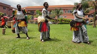 第15屆國際國民信託大會主辦國烏干達,以在地深具文化特色的傳統舞蹈迎接來自世界各國代表。