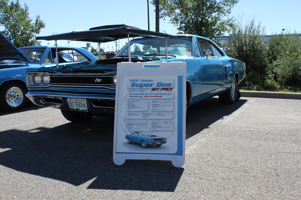 AutoNation Dodge Ram - 1969 Dodge Super Bee Six Pack Side