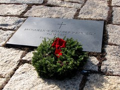 Grave of Jacqueline Kennedy Onassis