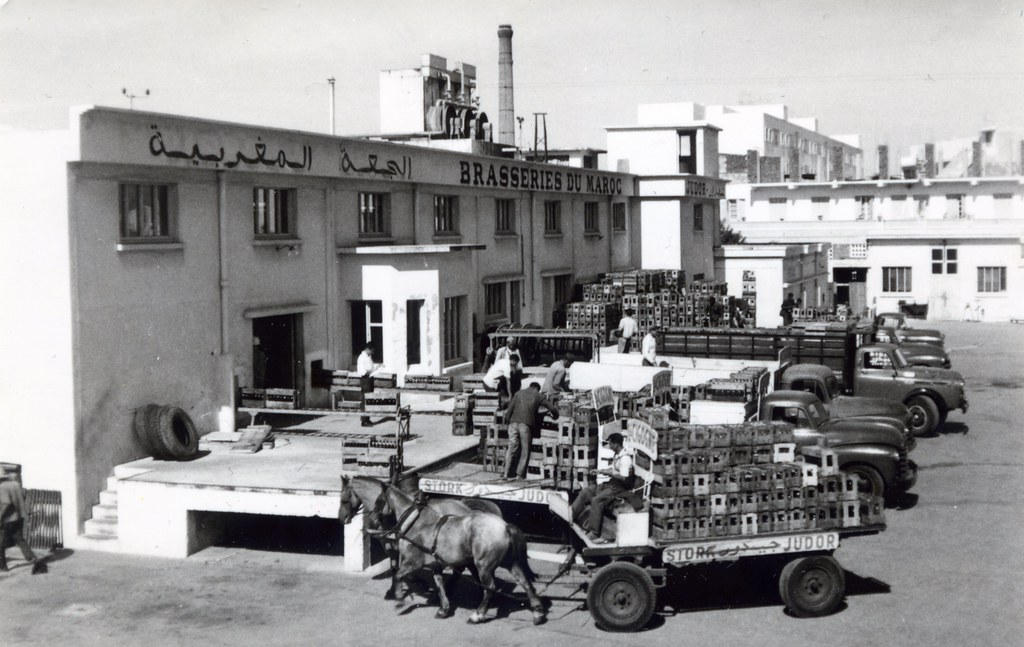 Maroc, années 50, Brasseries du Maroc, Casablanca. Vers 1954