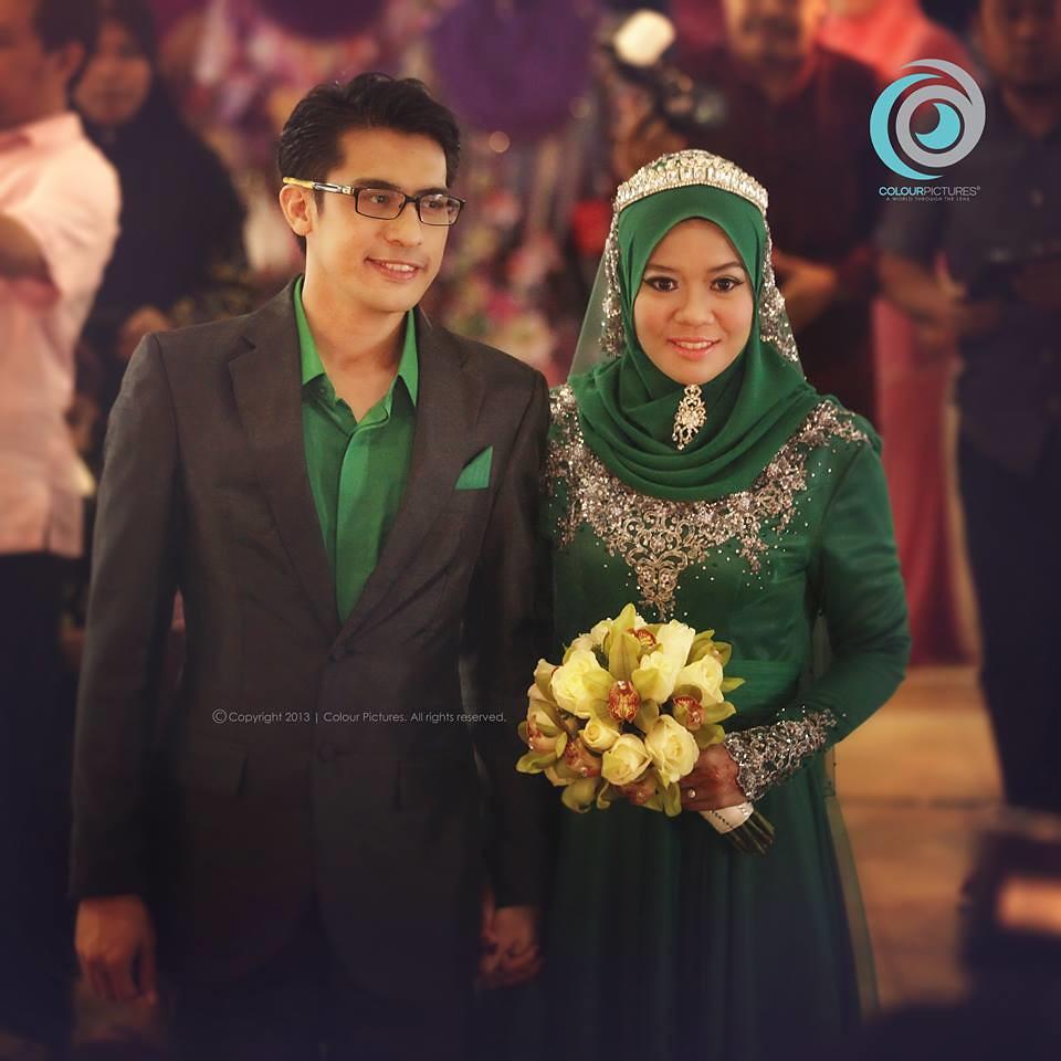 Gambar Majlis Resepsi Asyraf Muslim & Wan Sakinah