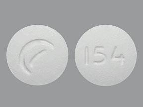 White Round Pill 155 Suboxone