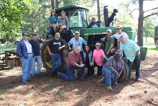 "One Warrior One - a recent ""Redneck Renewal Retreat"" in Mississippi."