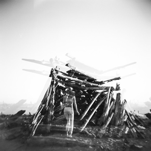 Holga GCFN Double Exposure
