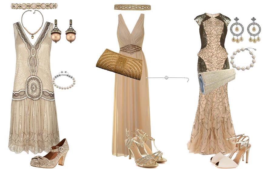 Robe soiree gatsby