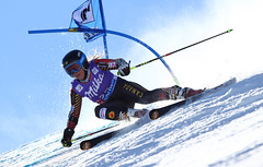 Prefontaine competes in the opening giant slalom race of the 2013-14 season in Solden, AUT.